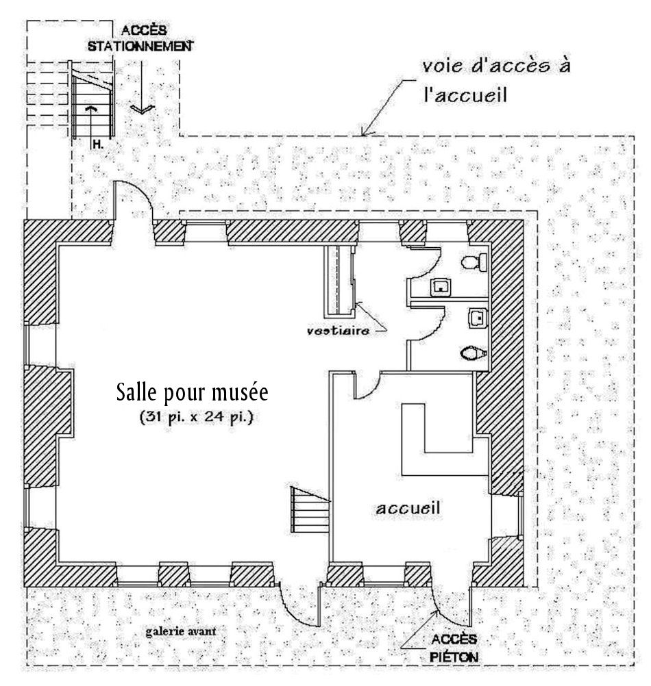 Plans d 39 am nagement corporation du manoir des j suites for Conception de plans de manoir